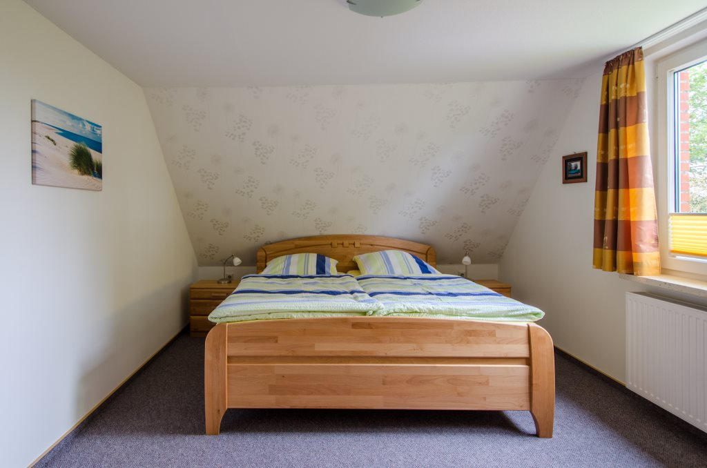 Wohnung 2 der Ferienwohnungen Jytte auf Borkum